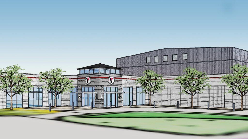 Cherokee County YMCA Rendering