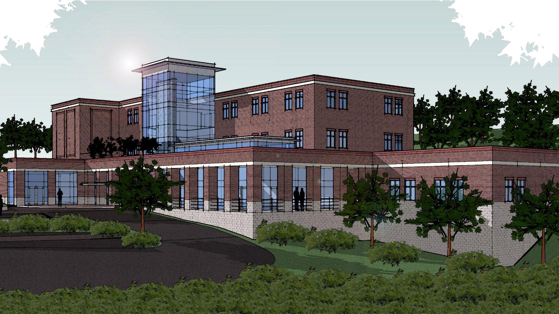Southwestern Community College Rendering
