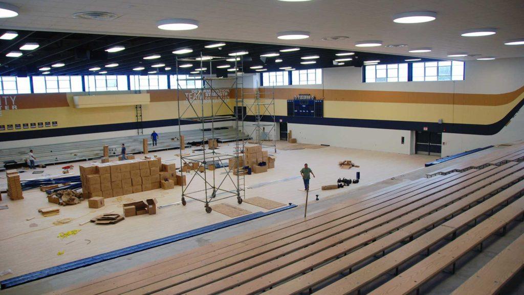 Spartanburg High School begins construction