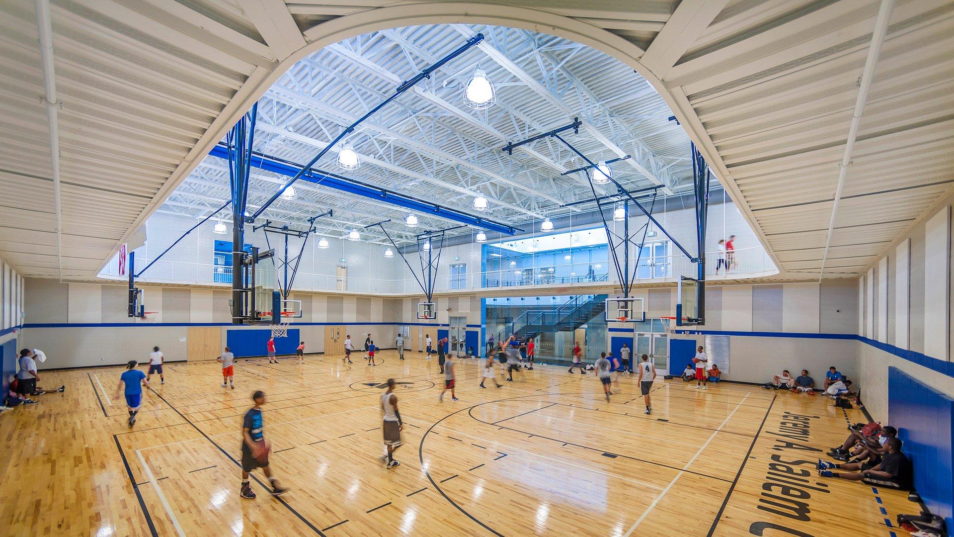 Spartanburg YMCA, Basketball Court