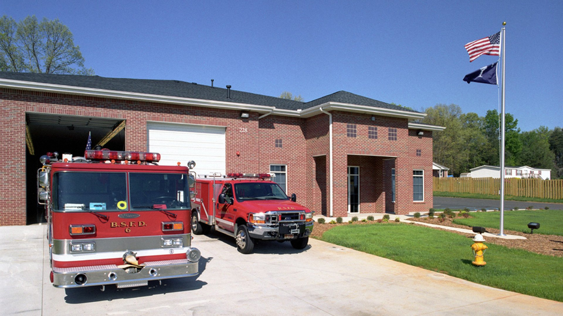 Boiling Springs Fire Station #3, Batesville Road