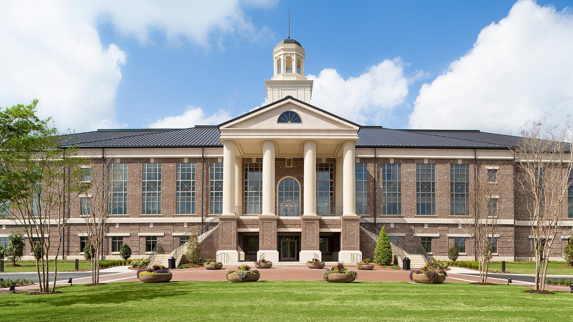 Aiken County Government Complex, Exterior