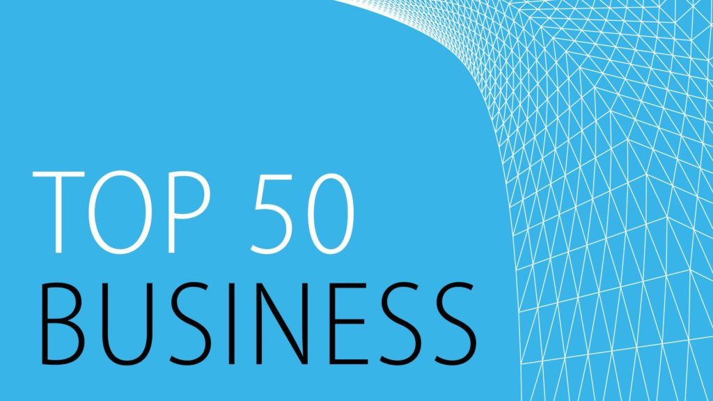 Architect Magazine Top 50 in Business 2014 graphic