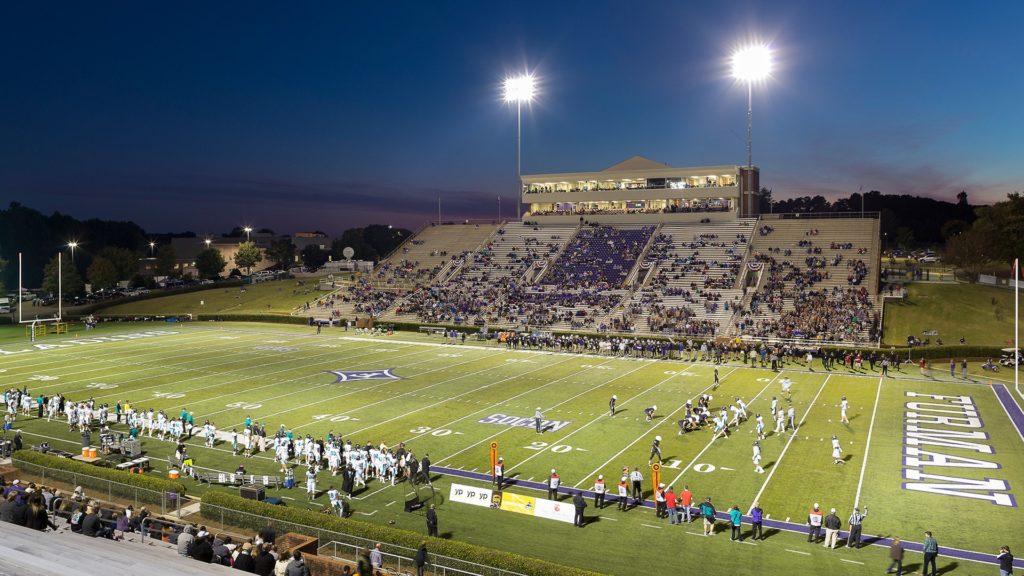 Furman University, Football Complex, Game Night