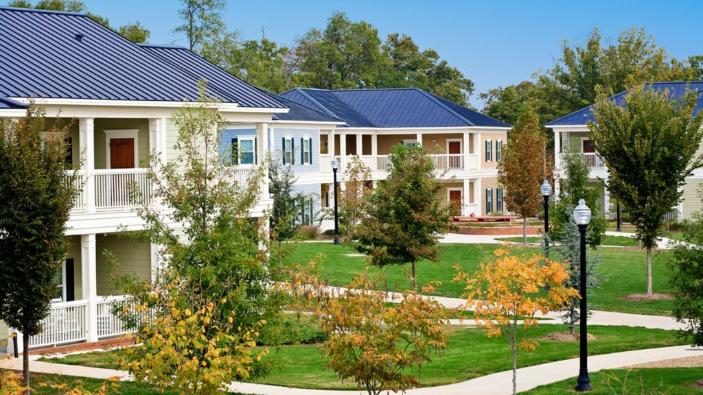 Village Housing, Wofford College