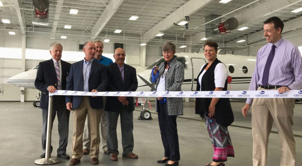 GSP Hanger with Roebuck, Ribbo Cutting
