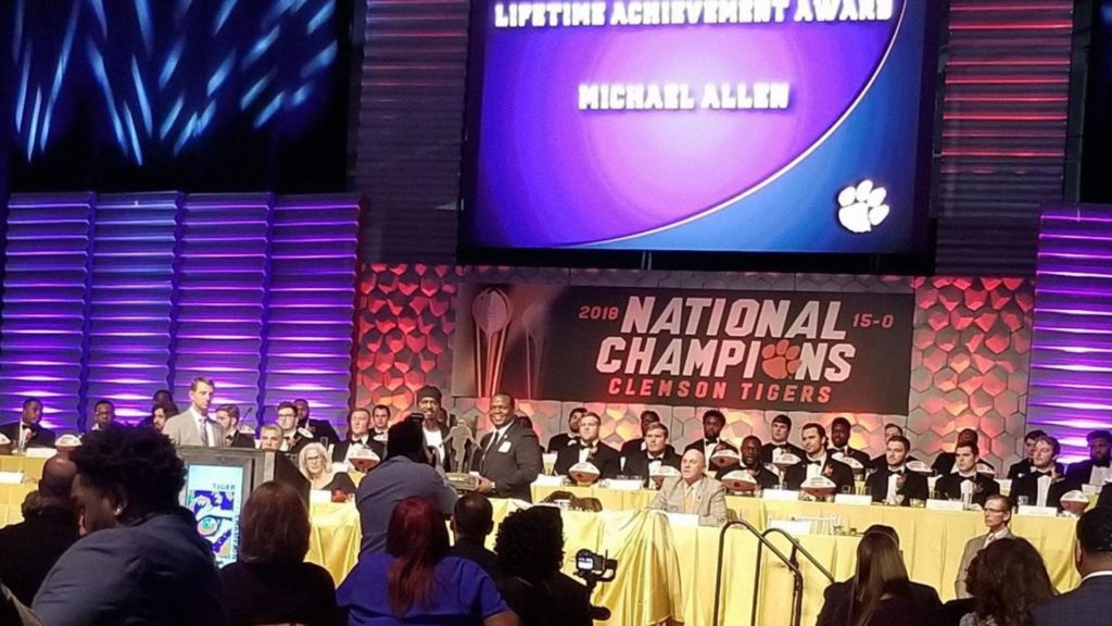 Event photo of the Annual Clemson Football Banquet, 2019