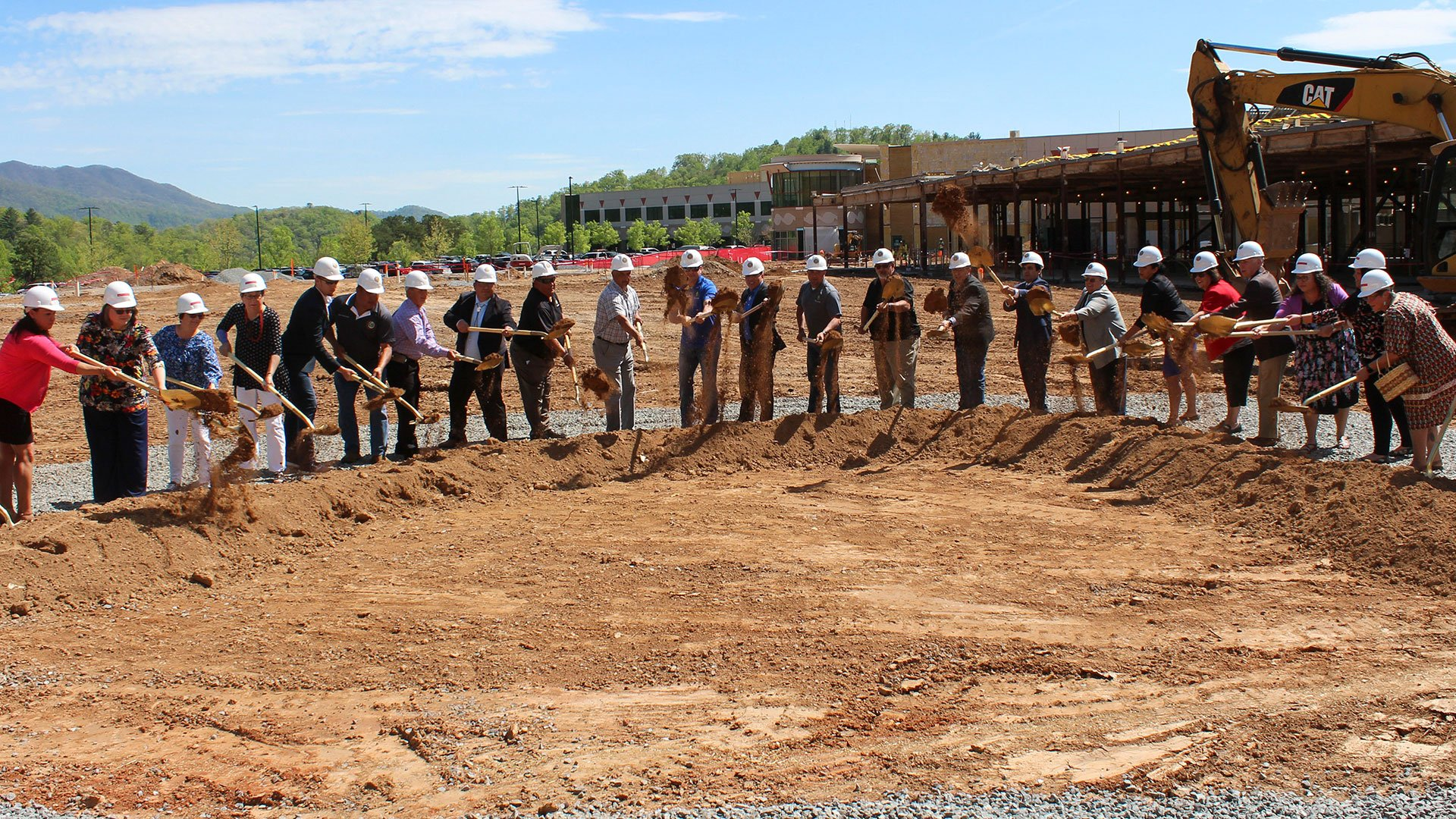 Groundbreaking at the Crisis Stabilization Unit, Cherokee Indian Hospital Authority