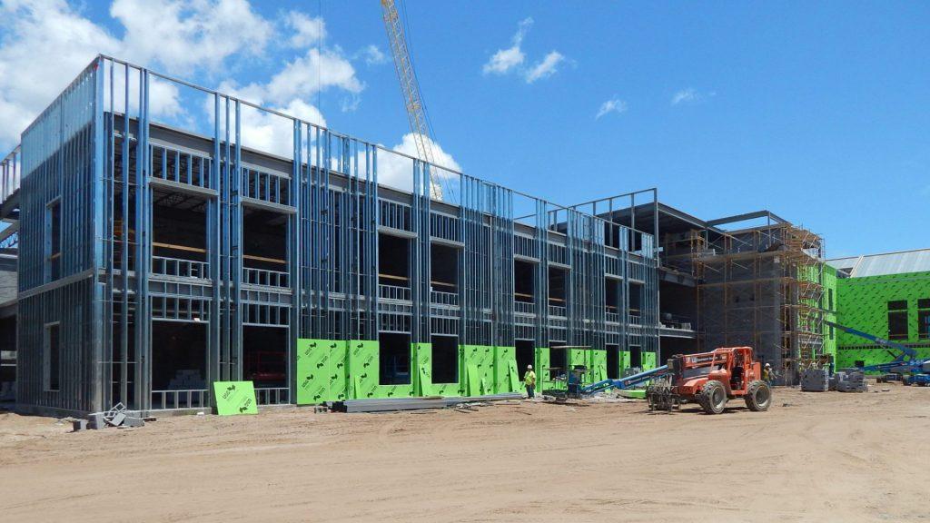 Lucy Beckham High School Construction