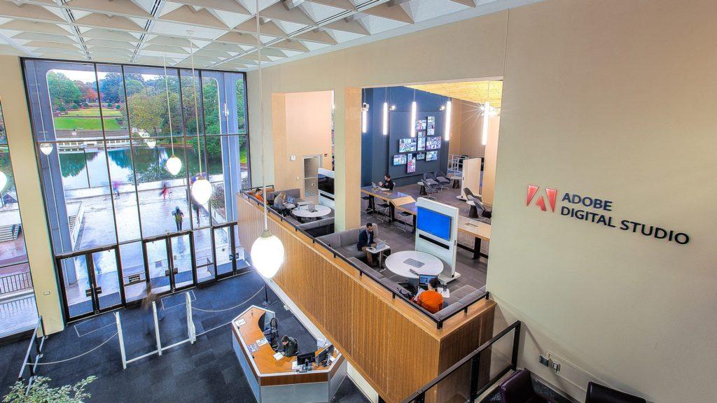Clemson University, RM-Cooper Library, Adobe Studio