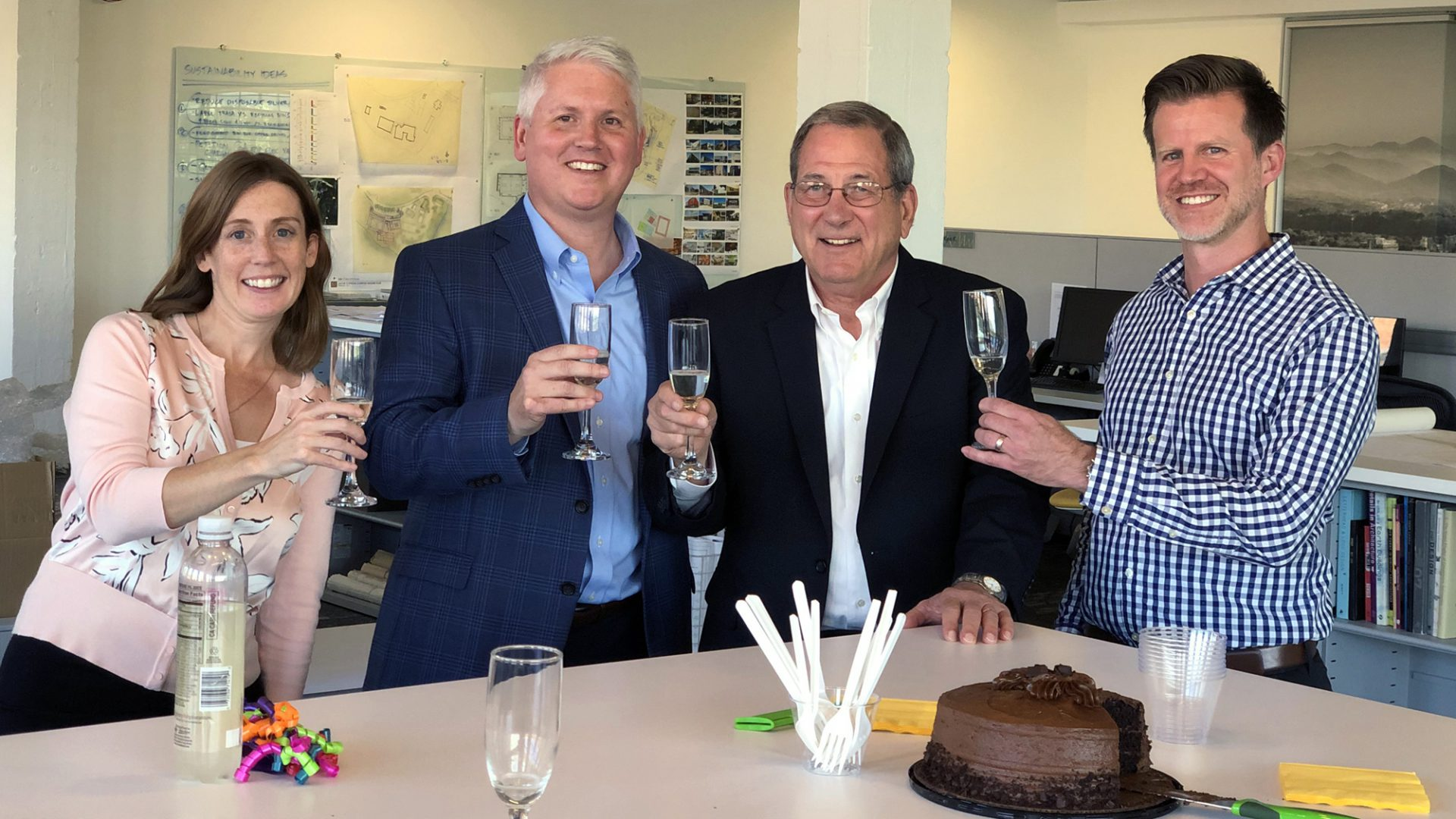 Cort Architectural Group Acquisition Toast