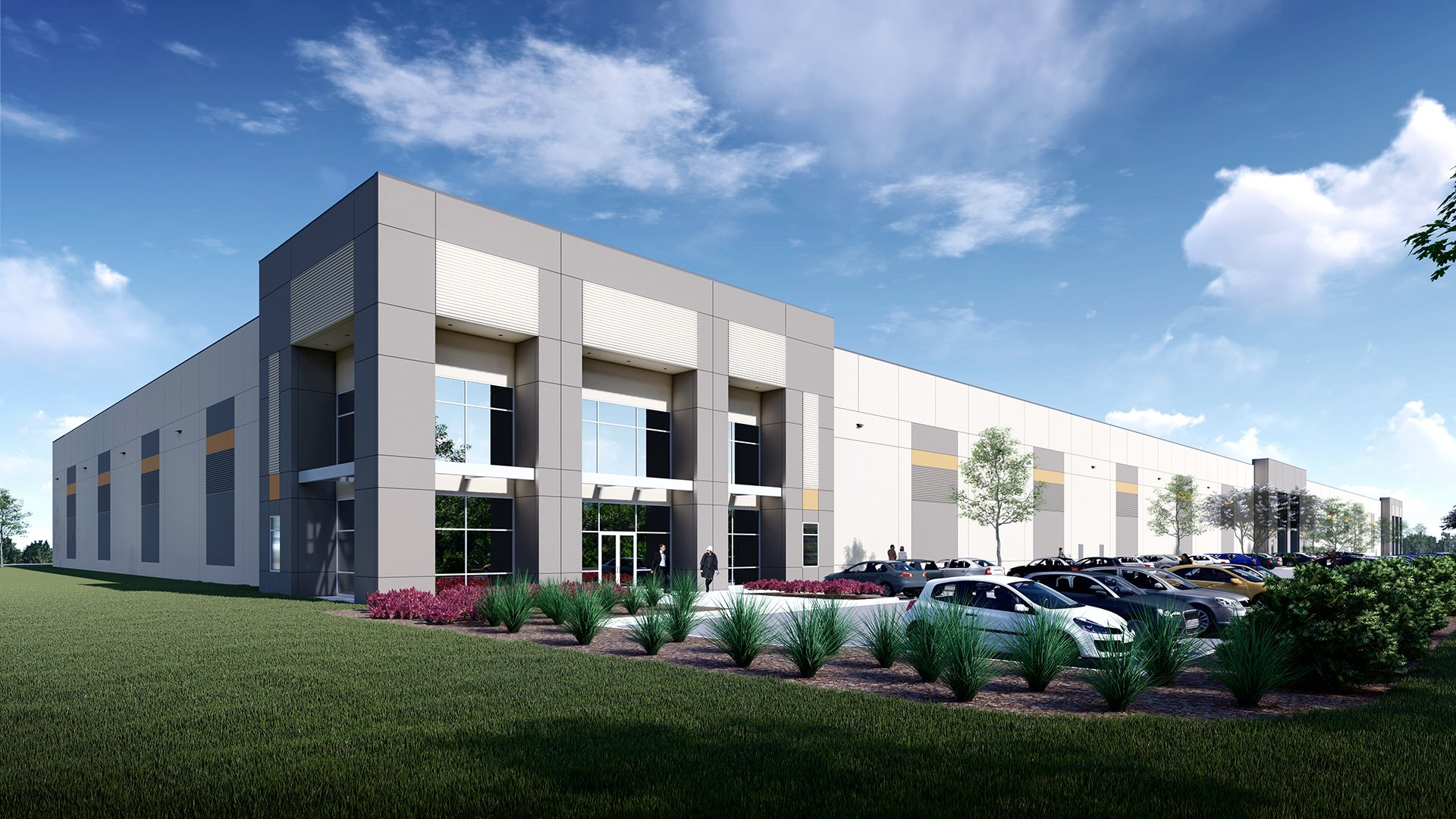 Meadow Oak Commerce Center, Rendering
