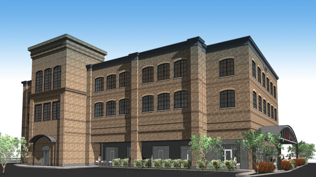 Greenville, West Side Project, Rendering