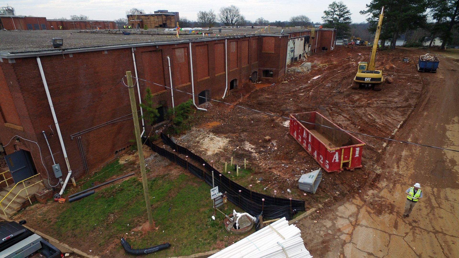 Judson Mill, Under Construction