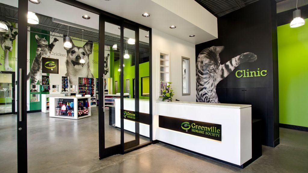 Greenville Humane Society, Adoption Center