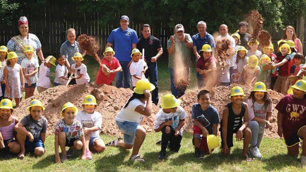 Cherokee Youth Center, Ground breaking