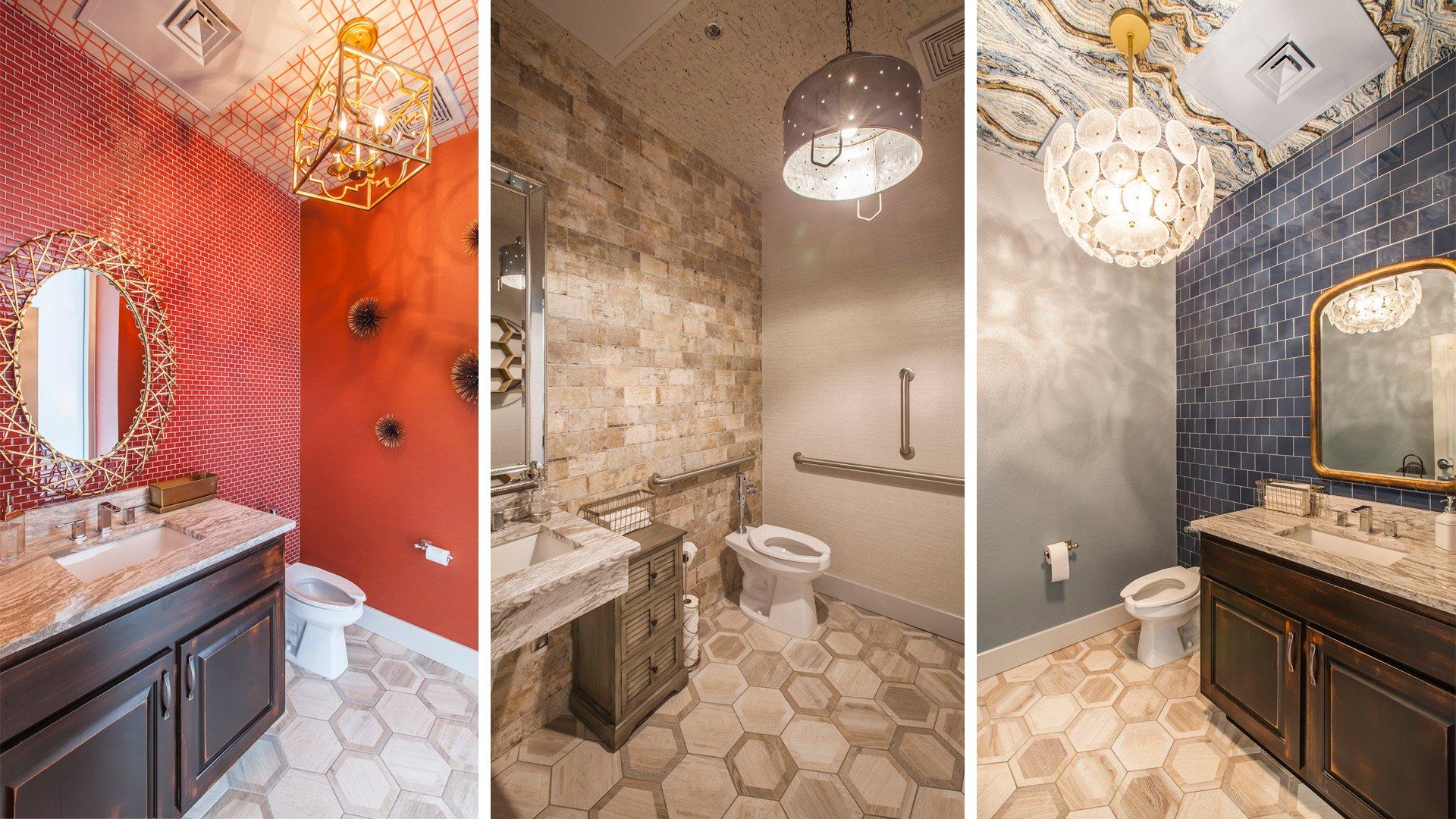 Jianna, Modern Italian + Oyster Bar, Bathrooms
