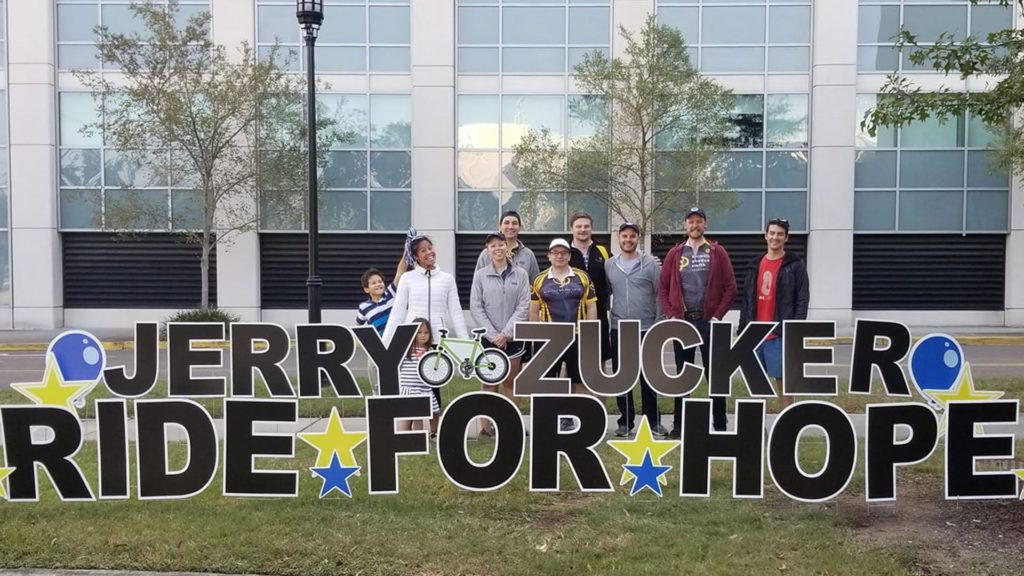 Jerry Zucker Ride for Hope, MPS Team pictured