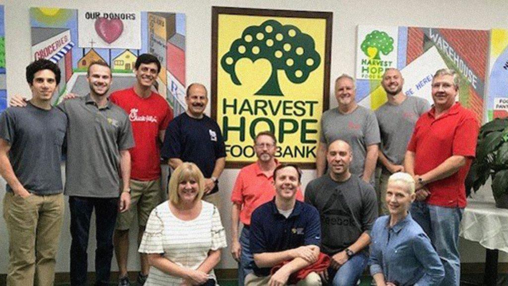 MPS Visits the Harvest Hope Food Bank