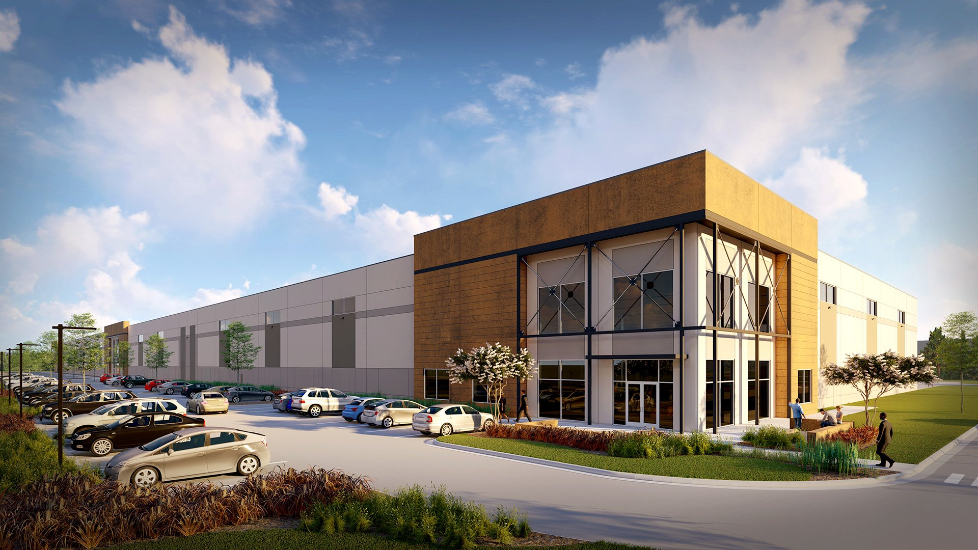 Fox Hill Business Park, Rendering
