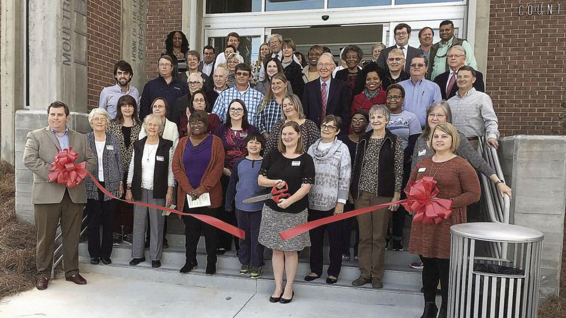 Moultrie-Colquitt County Library, Ribbon Cutting