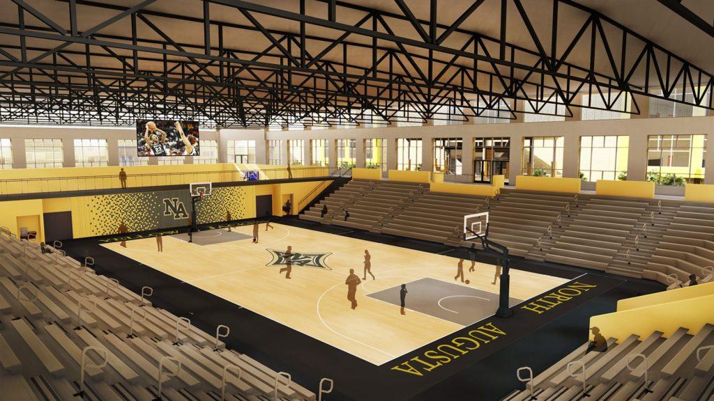 North Augusta High School, Gymnasium Rendering