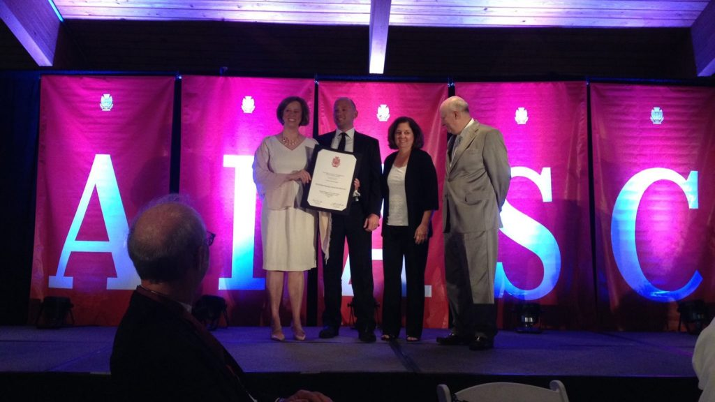 Mike Goll and Lisa Lanni receive AIA SC Design Awards