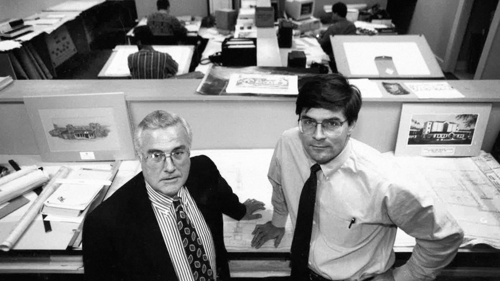 McMillan Smith and Partners, Pictured: Les McMillan and Ron Smith