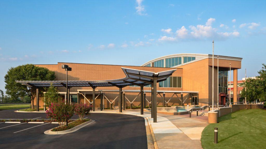 Mercer School of Medicine, Exterior