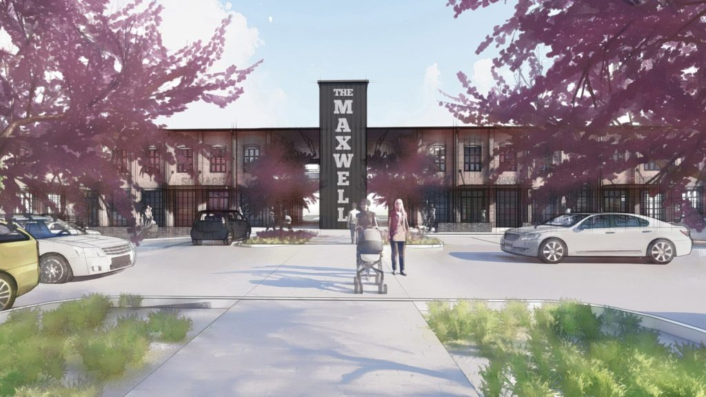 The Maxwell Building 3 Front Entrance Rendering