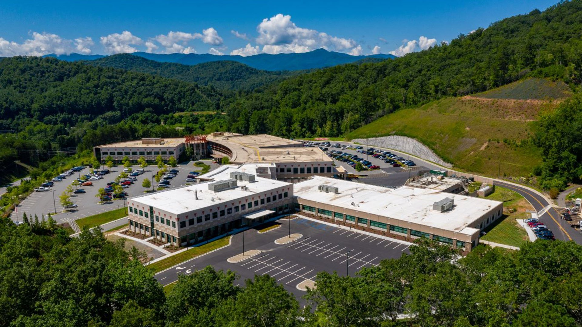 Pictured: Cherokee Indian Hospital's New Behavioral Health Unit