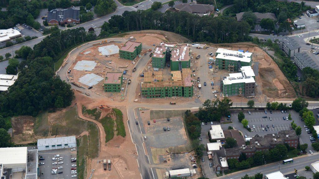 Lee Walker Heights, Under Construction
