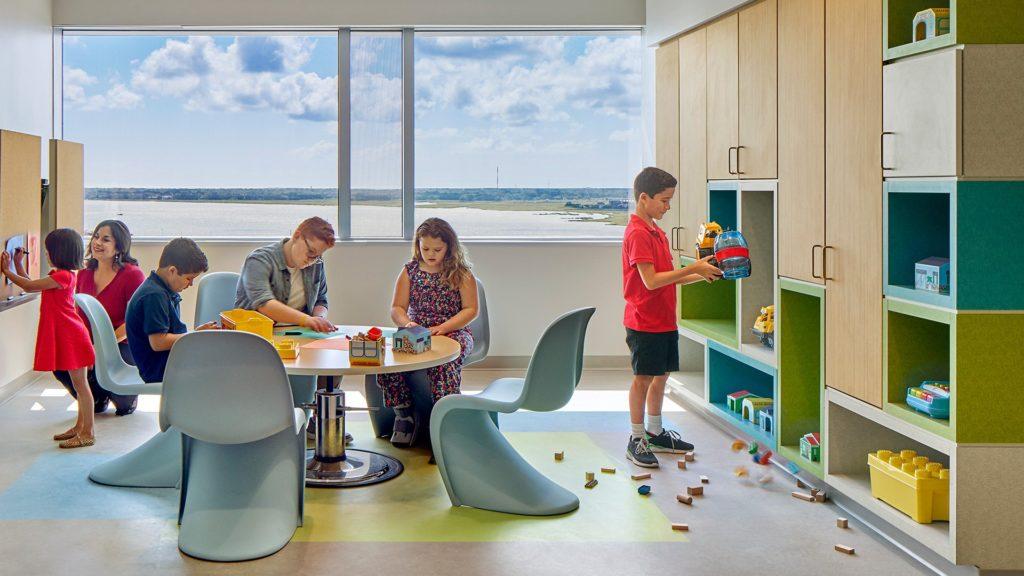 MUSC Children's Hospital, Child Life Area
