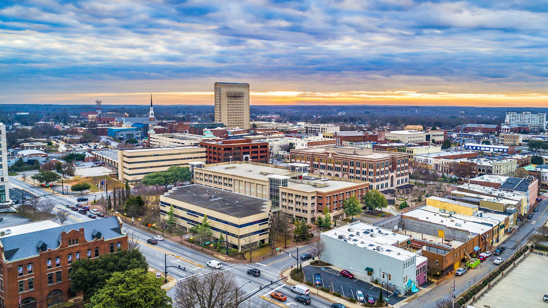 Spartanburg Development Over the Years