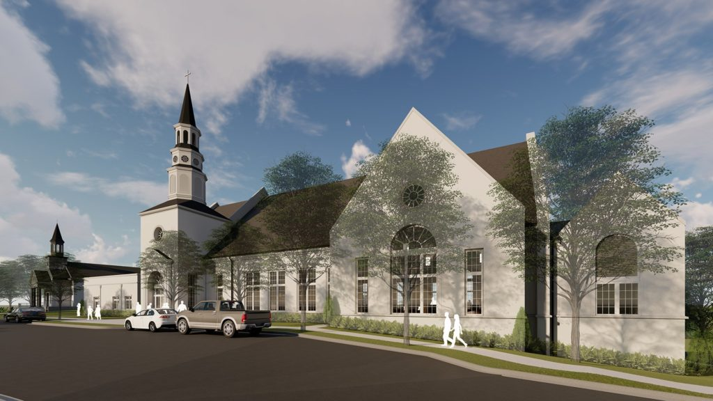 Rendering of St. Paul's Anglican Church