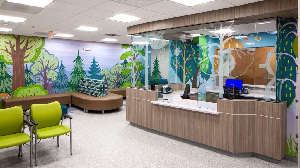 CaroMont Pediatric Partners - Belmont, Lobby
