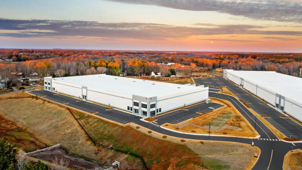 Carolina Commerce Spec Building Aerial