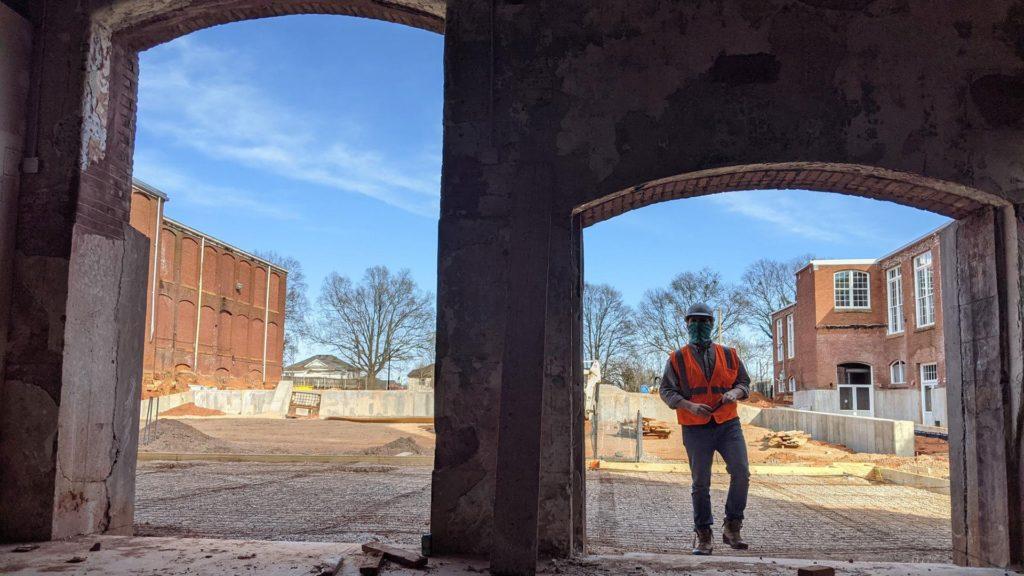 Judson Mill Construction Site Tour
