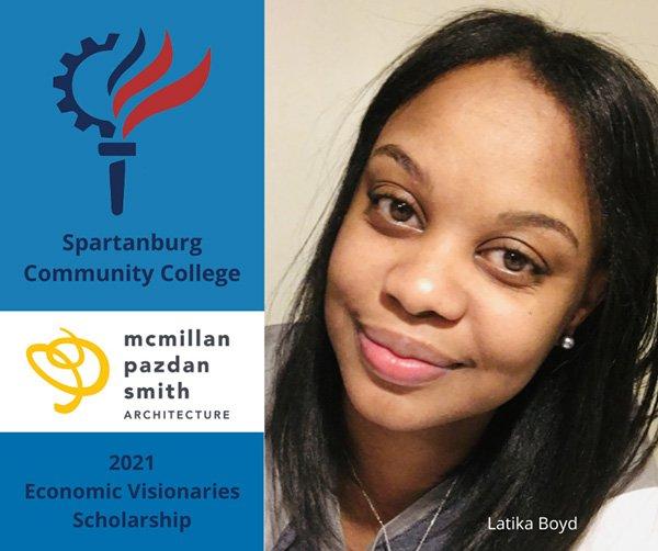 Pictured: Latika Boyd, Recipient of Nursing Student, SCC Foundation Scholarship