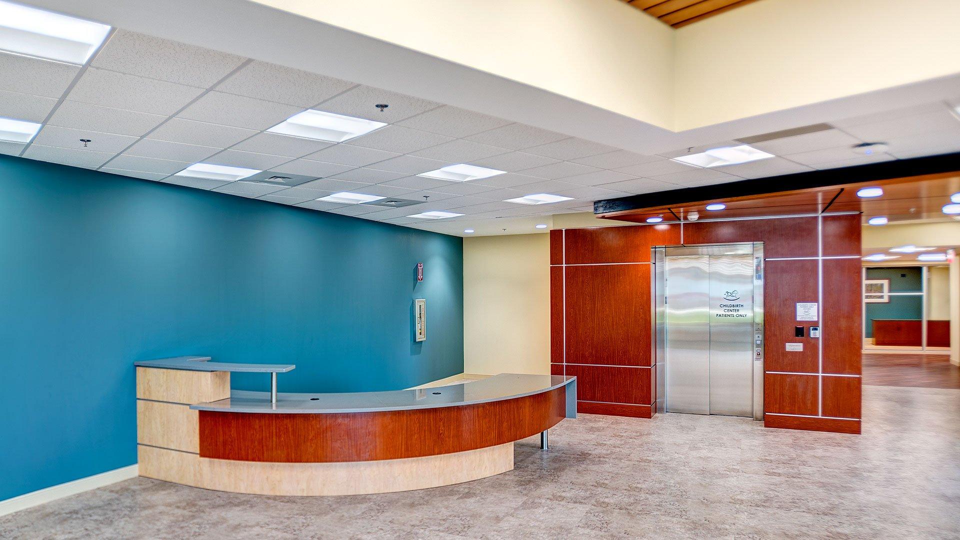 Self Regional Hospital Elevator