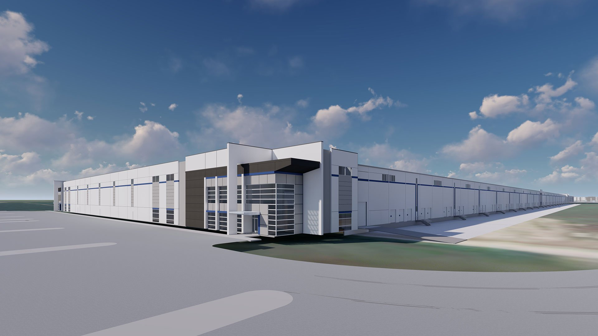 CTC Tract 1A, Spec Industrial Rendering