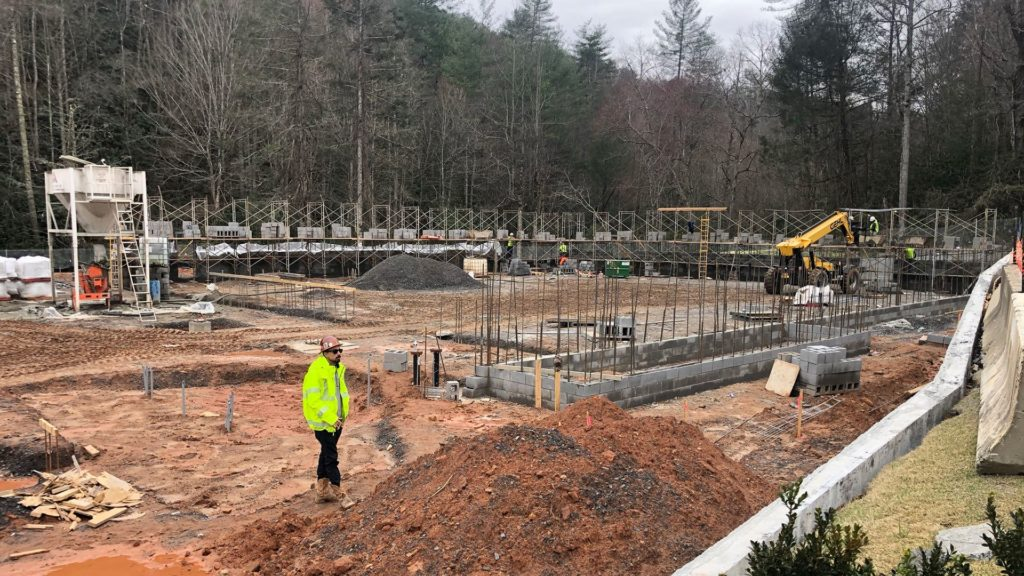 Construction Underway on New Community Center for the Eastern Band of Cherokee Indians