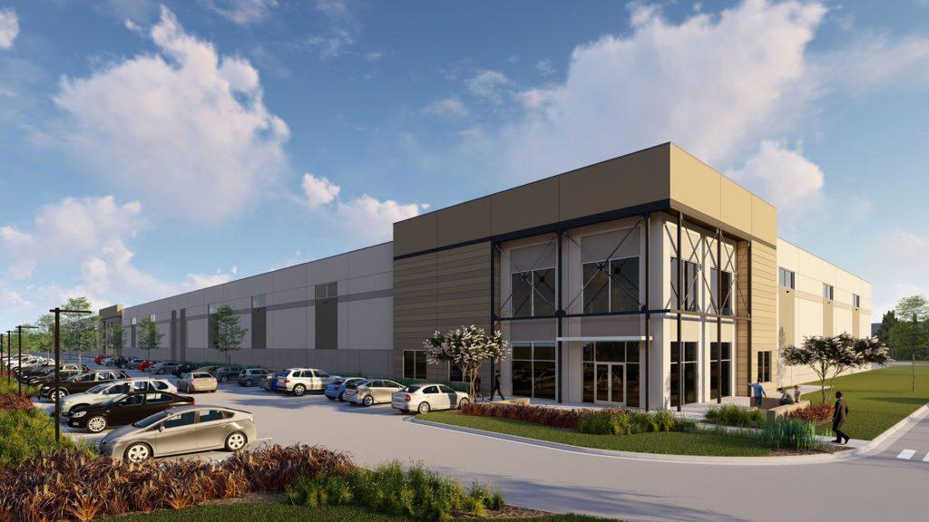 Fox Hill Business Park, Rendering