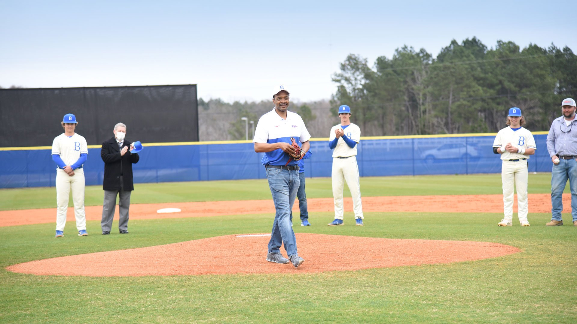 Inaugural Byrnes Rebel Baseball Game, Spartanburg District Five Schools