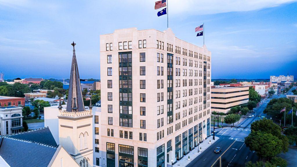 Montgomery Building, Exterior