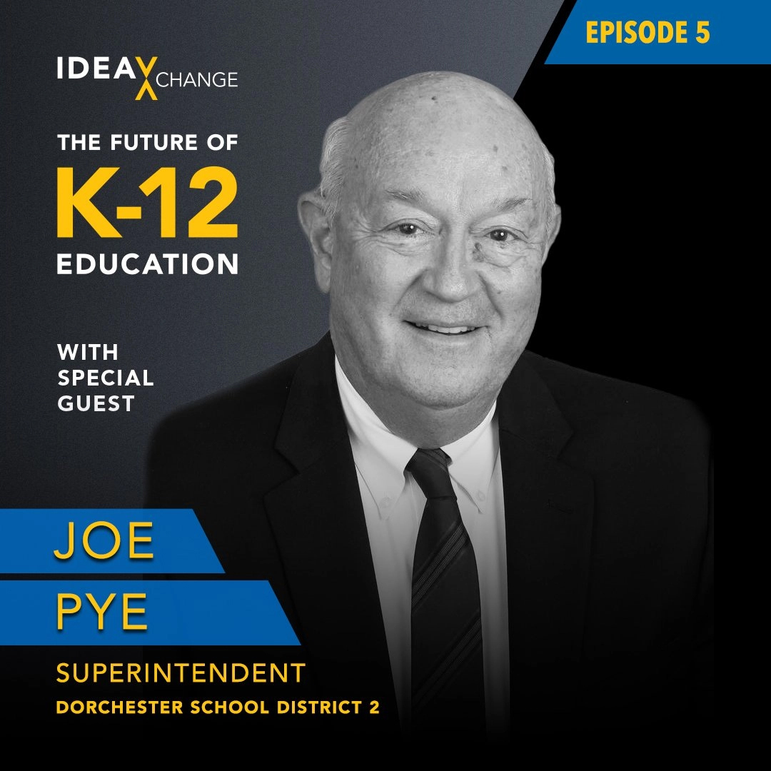 K-12 Podcast Episode 5 Guest pictured: Joe Pye