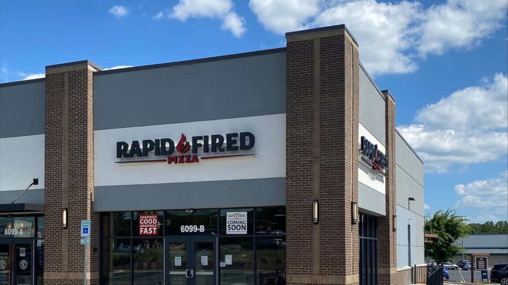 Rapid Fired Pizza, Easley