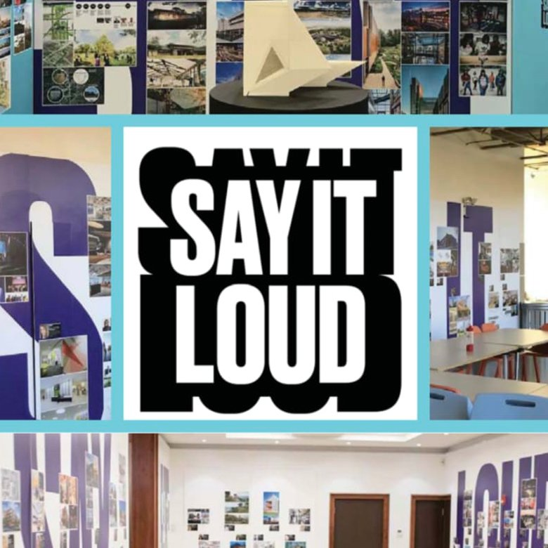 Say It Loud NC AIA graphic