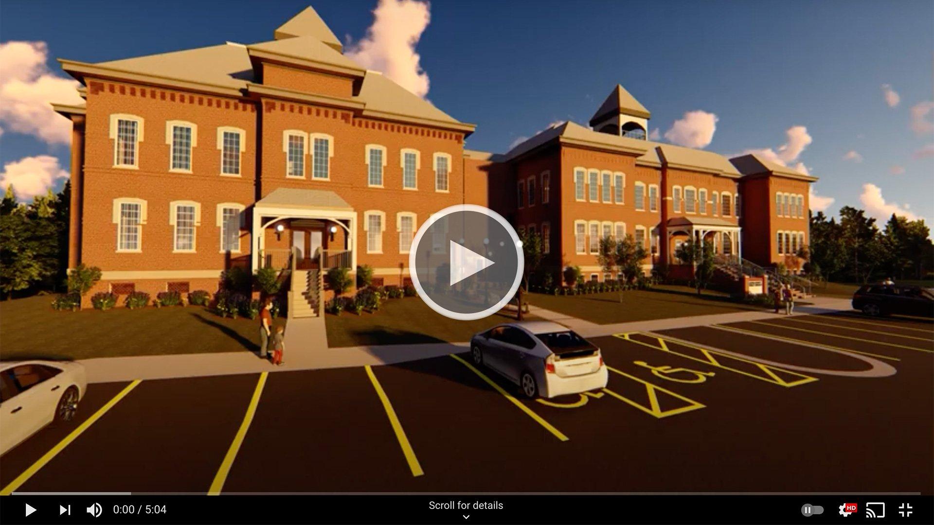 Aiken County Library Fly-Through