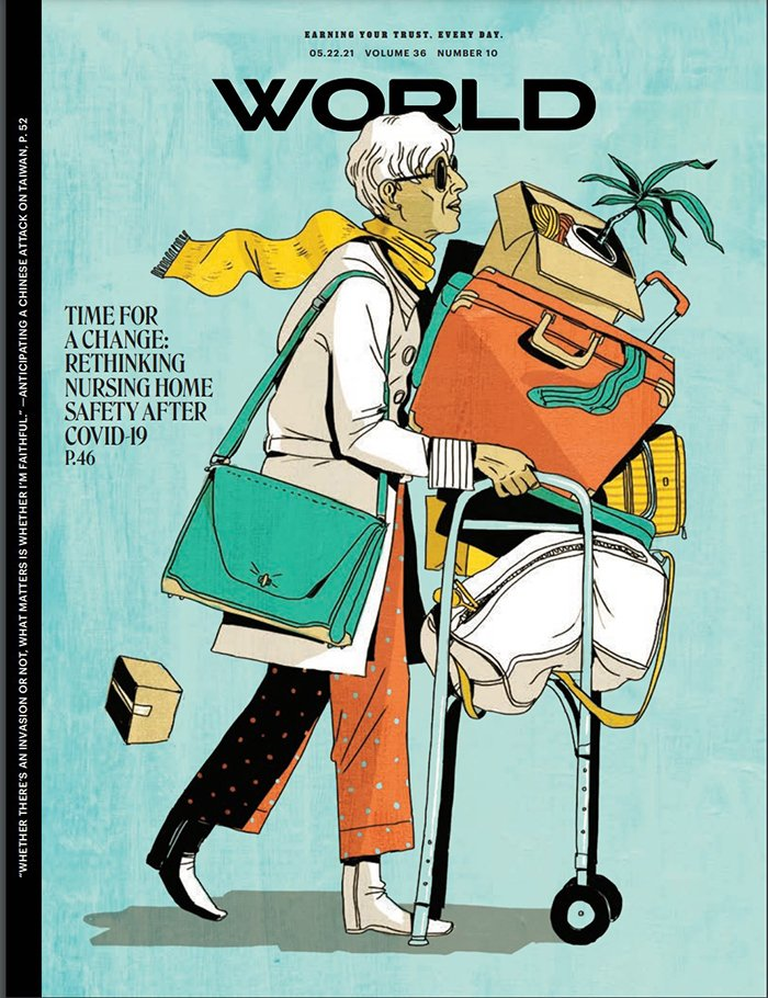 World Magazine cover, May 22, 2021 Volume 36 Number 10